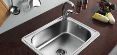 如何保养不锈钢水槽?