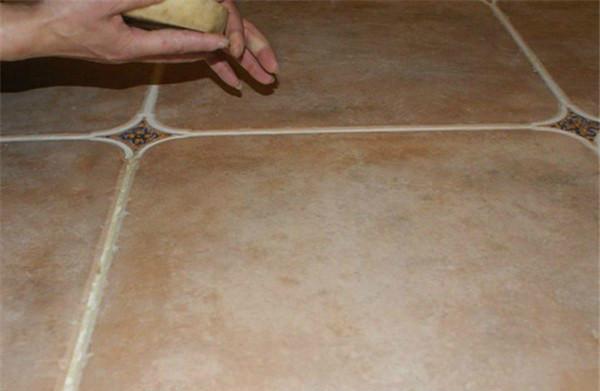 玻化砖清洁