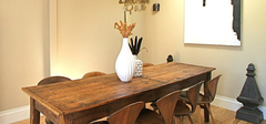 选购实木餐桌的诀窍有哪些?