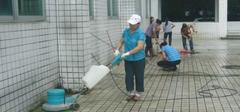 如何清洁玻化砖?