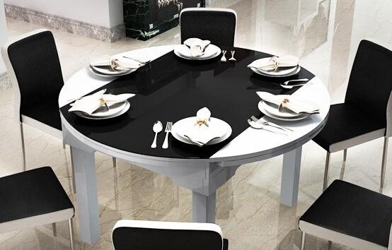 钢化玻璃餐桌保养