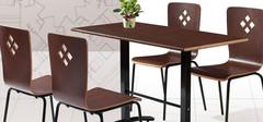餐桌和餐椅的尺寸以及材质的选择