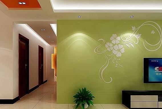 手绘墙装饰家居