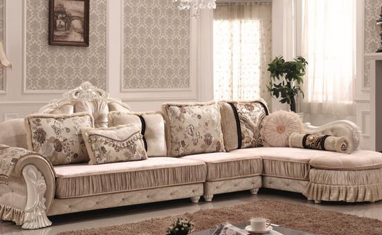 欧式布艺沙发