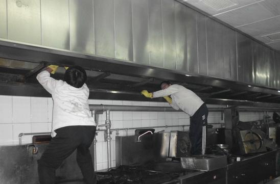 厨房烟道清洗