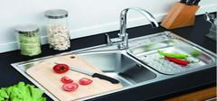 厨房水槽有哪些材质?厨房水槽尺寸