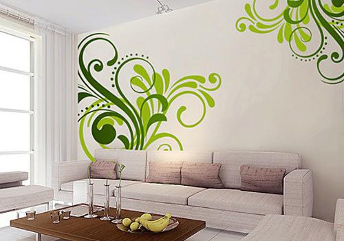 手绘墙效果图