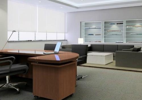 办公沙发效果图