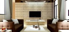 现代简约电视背景墙,家装不可缺!