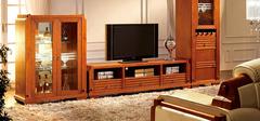 如何选购实木电视柜?