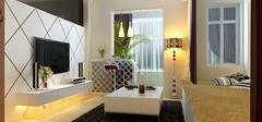 日式风格公寓装修,现代时尚之家!
