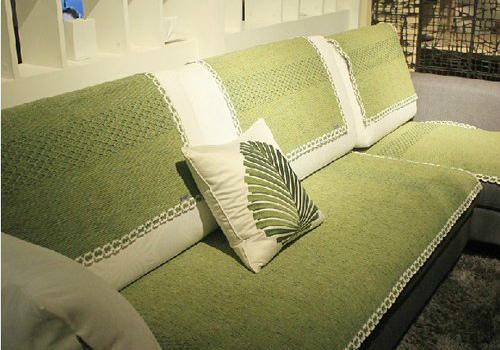 沙发巾装饰效果图