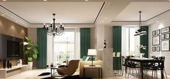 北欧风格家庭装修,白色经典设计!