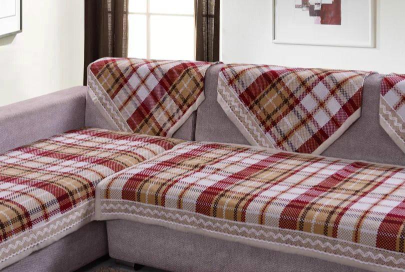 因为质量好的沙发巾应该是图案清晰