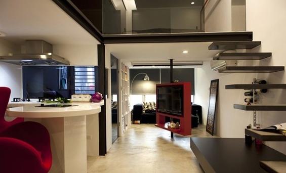 小户型单身公寓装修效果图