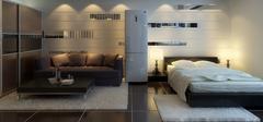 小户型单身公寓装修效果图,现代时尚!