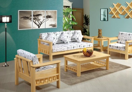 松木沙发效果图