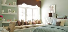 卧室飘窗设计,打造时尚美观空间!