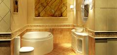 卫生间大理石瓷砖装修,个性且时尚!