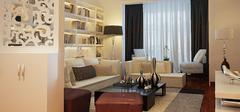 现代客厅隔断装修,感受现代时尚气息!