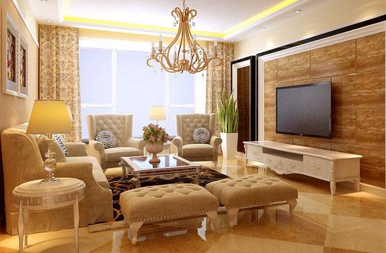 极致奢华客厅装修