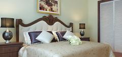 美式风格卧室装修,精致奢华风!
