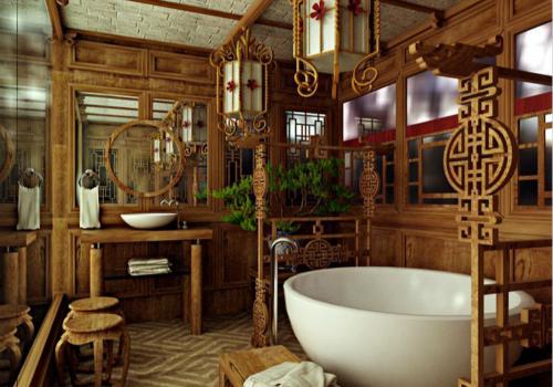 浴室设计效果图