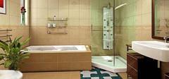 卫生间装修的原则与注意事项