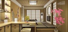 日式风格小户型装修,超强收纳!