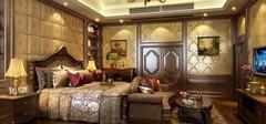 美式风格家居装修,打造木质卧室!
