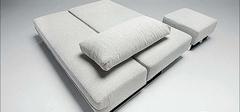 折叠沙发床实用,节省空间好帮手!
