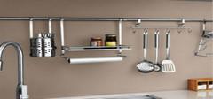 安装厨房储物架要注意些什么?