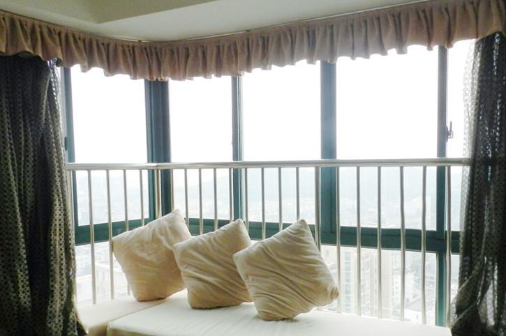 飘窗窗帘安装
