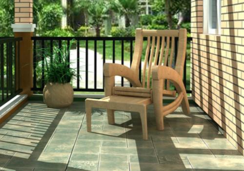 休闲椅效果图