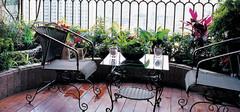 带有美式特色的阳台装修效果图