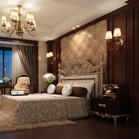 美式卧室设计