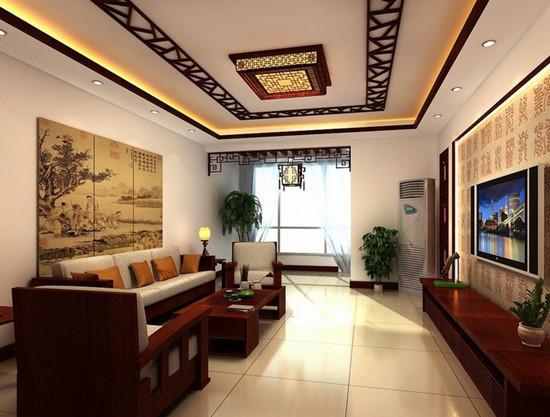 中式复古的家装