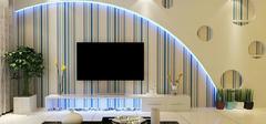 电视背景墙壁纸的选购细节有哪些?
