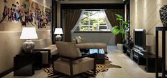 中式客厅设计效果,中式客厅设计要点
