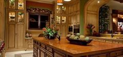 简欧风格厨房装修效果图,温馨!