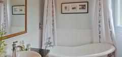 浴帘安装,墙面数决定安装方法!