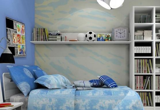 儿童房装修壁纸选购