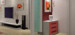 客厅玄关设计,怎么省钱怎么设计!