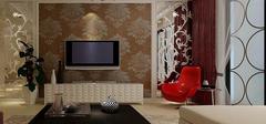 现代简约电视墙设计,客厅亮点!