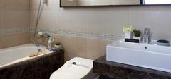 新中式卫生间装修,打造实用空间!