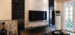 现代简约电视背景墙,个性功能齐全!