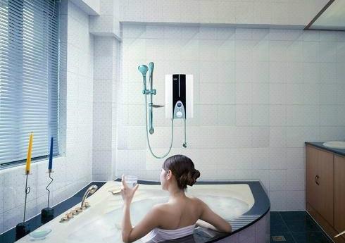 电热水龙头效果图