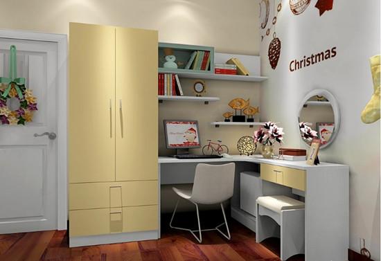 儿童房衣柜设计