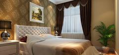 中式风格卧室装修,极简装修!