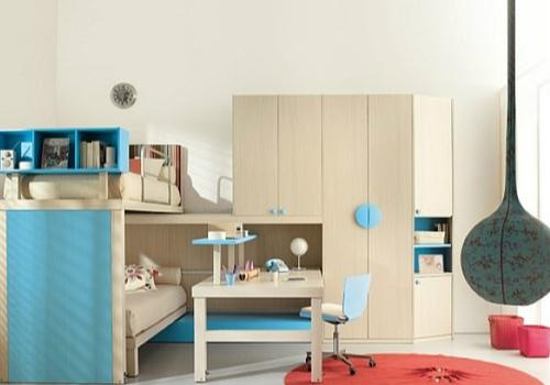 儿童组合家具效果图